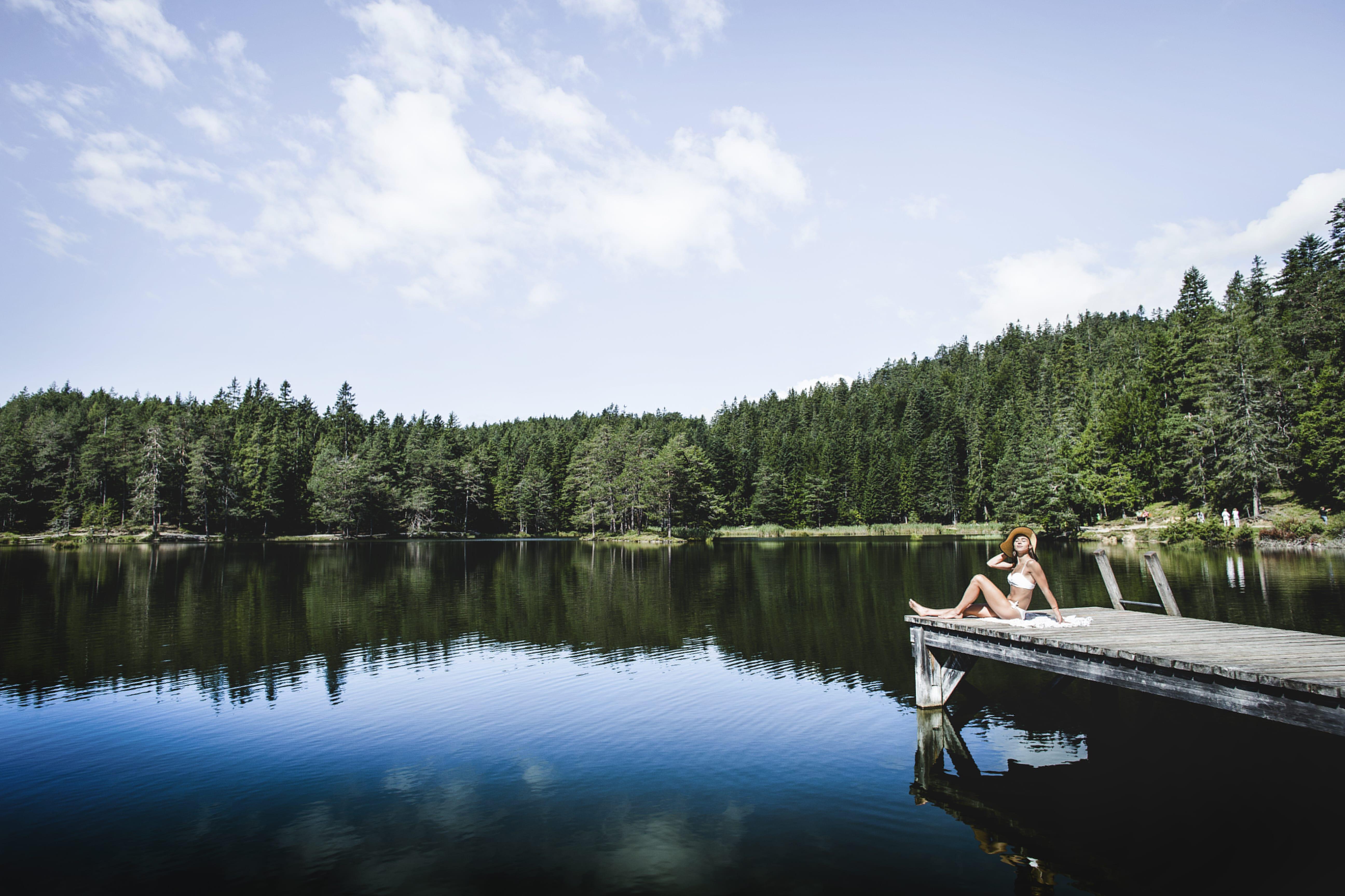 Schwimmen in Seefeld